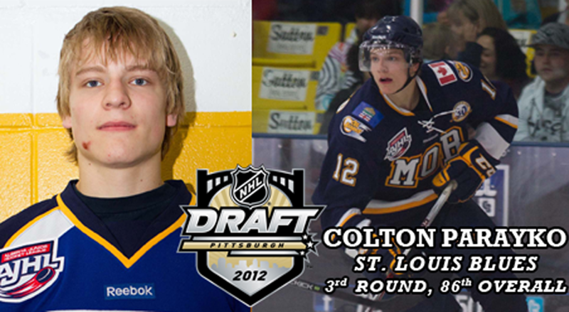 newest 3bbb5 9273f Nanook Recruit Colton Parayko Drafted By NHL's St. Louis ...