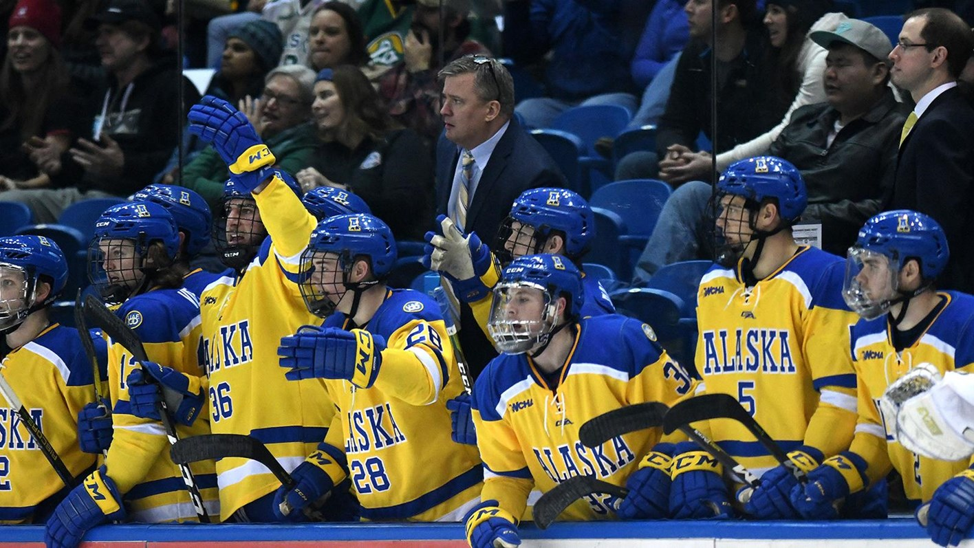 NanooksHockey Kicks-Off 2018 WCHA Playoffs by Facing  3 Mavericks ... 09184923039f7